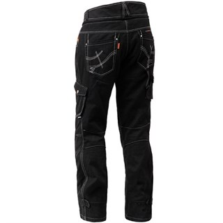 Halvarssons Curtis trousers in blackAlternative Image1