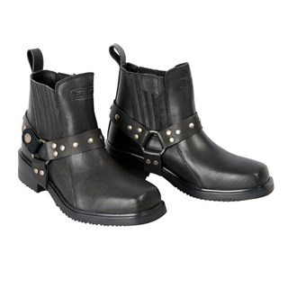 Halvarssons Convoy boots in black Alternative Image1