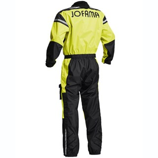 Halvarssons Waterproof rain suit in black / yellowAlternative Image1