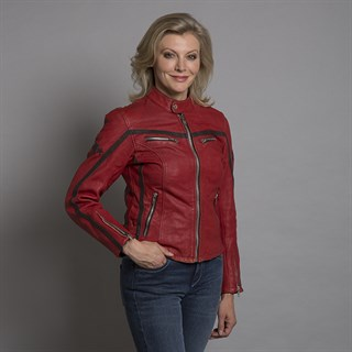 Halvarssons Ladies Red 310 JacketAlternative Image2
