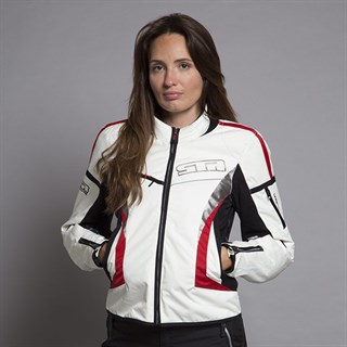 Halvarssons ladies Zoya jacket in whiteAlternative Image2