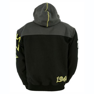 Halvarssons Biggin Hoodie - Black/YellowAlternative Image1