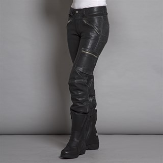 Halvarssons Rider ladies trousers in blackAlternative Image2