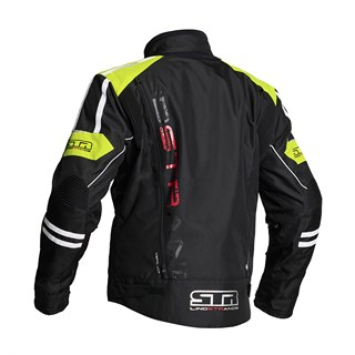 Halvarssons Wacca jacket in black / yellowAlternative Image1