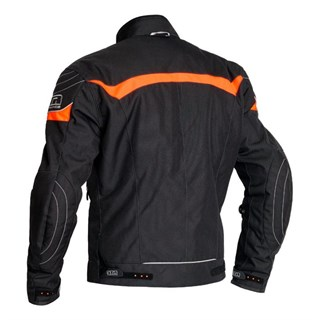 Halvarssons Cheops jacket in black / orangeAlternative Image1