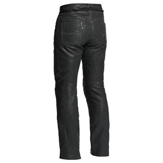 Halvarssons Seth Leather trousers in blackAlternative Image1
