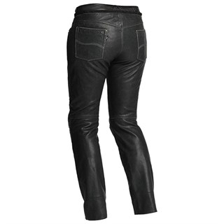 Halvarssons Seth ladies leather trousers in blackAlternative Image1