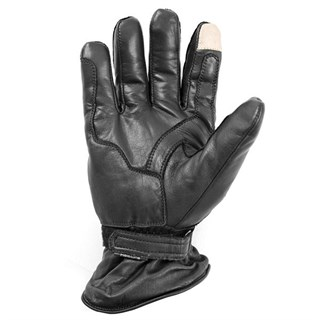 Helstons Retro Black Pro gloves in black Alternative Image1