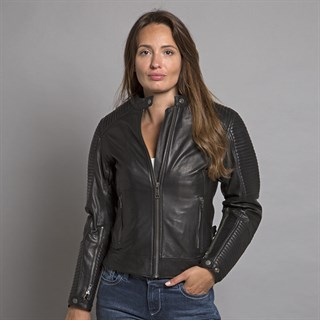 Helstons Razzia ladies jacket in blackAlternative Image2