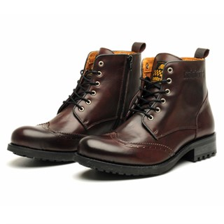 Helstons Cardinal Boots in burgundy 46Alternative Image1