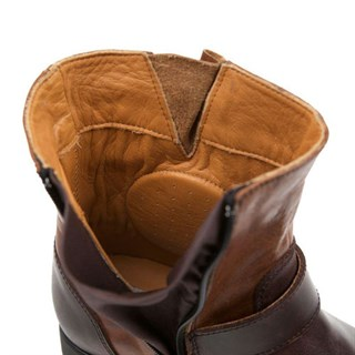 Helstons Grace ladies boots in brown / tanAlternative Image1