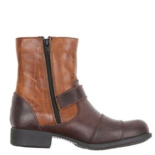 Helstons Grace ladies boots in brown / tanAlternative Image2