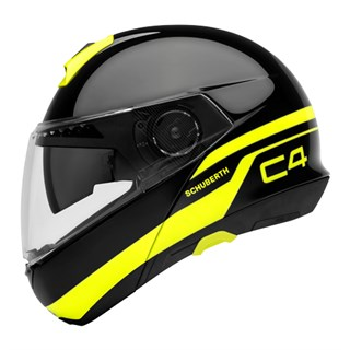 Schuberth C4 helmet in pulse blackAlternative Image1
