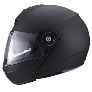 Schuberth C3 Pro helmet in matt blackAlternative Image2