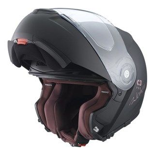 Schuberth C3 Pro ladies helmet in matt blackAlternative Image1