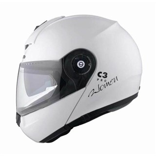 Schuberth Ladies C3 Pro helmet in gloss whiteAlternative Image1