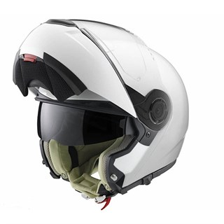 Schuberth Ladies C3 Pro helmet in gloss whiteAlternative Image2