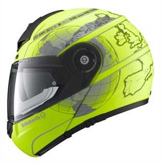 Schuberth C3 Pro helmet in Europe yellowAlternative Image1