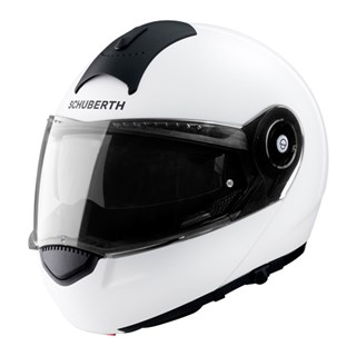 Schuberth C3 Basic helmet in whiteAlternative Image1