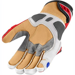 Icon Hypersport Pro Short gloves in white / redAlternative Image1