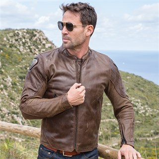 Icon Retrograde jacket in brownAlternative Image2