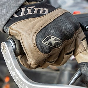 Klim Adventure GTX glove in tanAlternative Image2