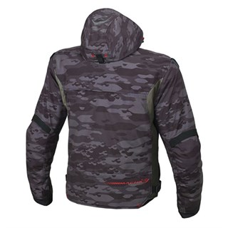 Macna Redox jacket in dark camoAlternative Image1