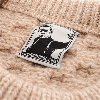 McQueen Arran Jumper in wheat creamAlternative Image1
