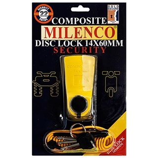 Milenco disc lock 14 x 60 mmAlternative Image2