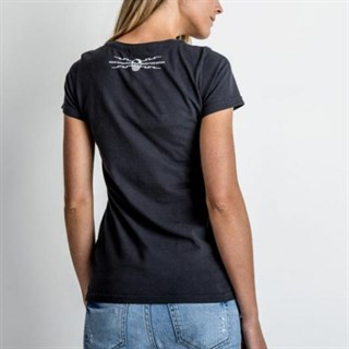 Red Torpedo Guy Martin Ladies Spanner Swarm T-ShirtAlternative Image1