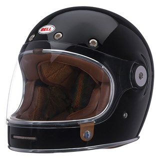 Bell Bullitt helmet in gloss blackAlternative Image1