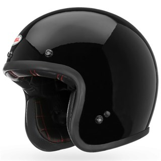 Bell Custom 500 helmet in gloss blackAlternative Image2