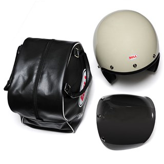 Bell Custom 500 helmet in whiteAlternative Image1