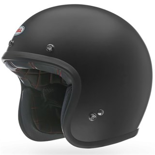Bell Custom 500 helmet in matt blackAlternative Image2