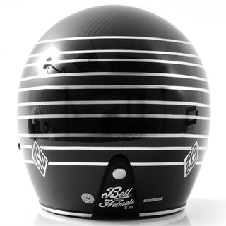 Bell Custom 500 Carbon RSD helmet in talladega blackAlternative Image1