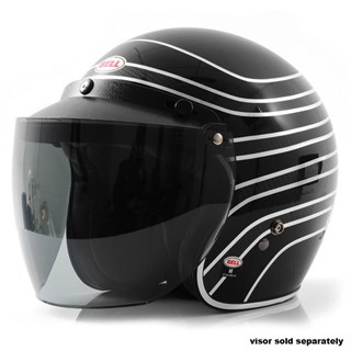 Bell Custom 500 Carbon RSD helmet in talladega blackAlternative Image2