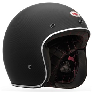 Bell Custom 500 Carbon helmet in matt blackAlternative Image1