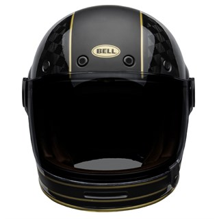 Bell Bullitt Carbon RSD Check It helmet in black and goldAlternative Image1