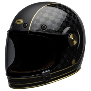 Bell Bullitt Carbon RSD Check It helmet in black and goldAlternative Image2