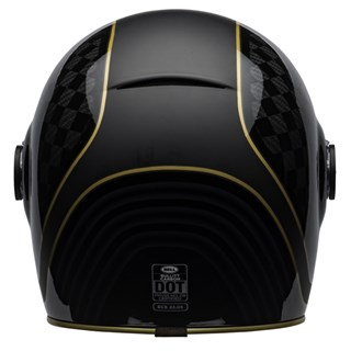 Bell Bullitt Carbon RSD Check It helmet in black and goldAlternative Image3