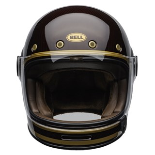 Bell Bullitt Carbon Transcend Gloss helmet in candy red and goldAlternative Image1