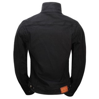 Rokker Black jacket in blackAlternative Image1