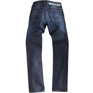 Rokker Revolution Ladies jeans in blueAlternative Image1