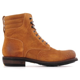 Rokker Urban Racer Suede boots in tanAlternative Image1