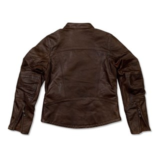 Roland Sands ladies Maven jacket in tobaccoAlternative Image1