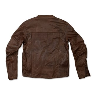 Roland Sands Barfly jacket in tobaccoAlternative Image1