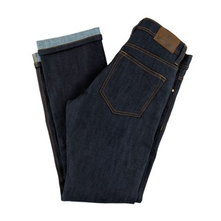 Resurgence Cafe Racer Raw skinny leg jeans in blueAlternative Image2