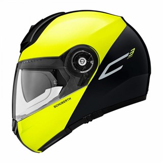 Schuberth C3 Pro Split helmet in yellowAlternative Image1