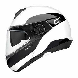 Schuberth C4 Pro Fragment helmet in whiteAlternative Image1