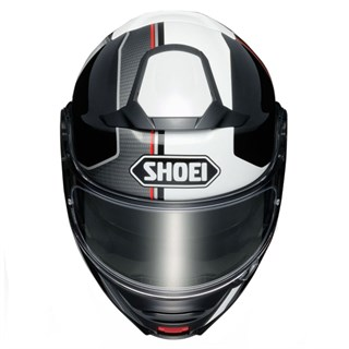 Shoei Neotec 2 Excursion TC6 helmet in white / blackAlternative Image2